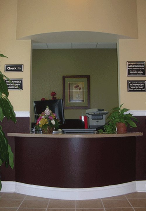 West OC Injury Care Center Lobby